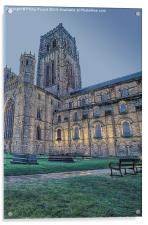 Durham Cathedral Early Morning, Acrylic Print