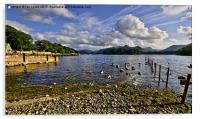 Derwentwater From The Northern Shore , Acrylic Print