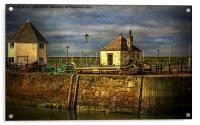 The Harbour At Maryport, Acrylic Print