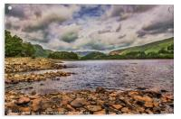 Thirlmere Looking North, Acrylic Print