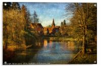 Whitchurch on Thames, Acrylic Print