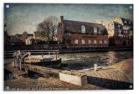 The Old Brewery Stables, Acrylic Print