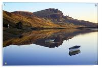 Storr Reflected, Acrylic Print