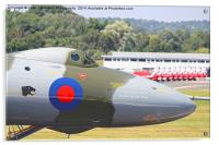 The Spirit Of Great Britain 1 - Farnborough 2014, Acrylic Print