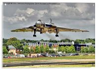 Vulcan To The Skies Landing - Farnborough 2014, Acrylic Print