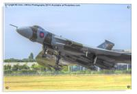 Vulcan Takes to the Sky - Farnborough 2014, Acrylic Print