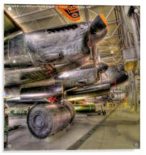 The Duxford Lancaster, Acrylic Print