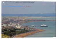 Red Arrows Eastbourne 4, Acrylic Print