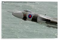 Vulcan XH558 from Beachy Head 7, Acrylic Print