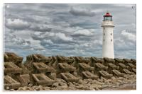 PERCH ROCK LIGHTHOUSE(Another Angle), Acrylic Print