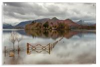 The Gate Derwentwater, Acrylic Print
