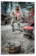 Iron and Brass Foundry, Acrylic Print