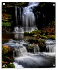 Scaleber force waterfalls , Acrylic Print
