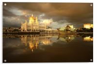 Royal Mosque in Brunei, Acrylic Print