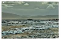 Warship in the Clyde, Acrylic Print