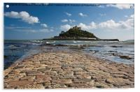 St Michaels Mount, Cornwall, Acrylic Print