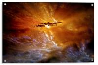 """""""Fire in the Sky"""", Acrylic Print"""