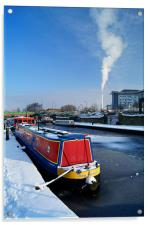 Sheffield Canal at Victoria Quays, Acrylic Print
