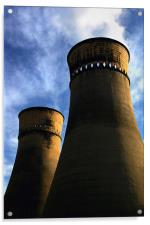 Tinsley Cooling Towers, Acrylic Print