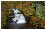 Lumsdale Waterfalls , Acrylic Print