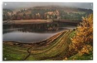 Derwent Mist and Reflections, Acrylic Print