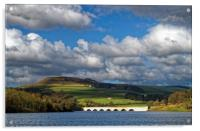 Clouds gathering over Ladybower, Acrylic Print