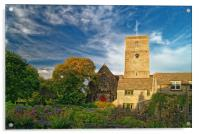 St Marys Church, Swanage, Acrylic Print