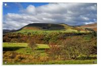 Edale and Hope Valley                     , Acrylic Print