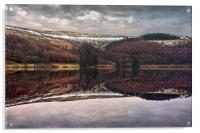 Derwent Winter Reflections                        , Acrylic Print