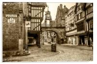 Eastgate Chester, Acrylic Print