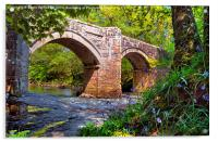 NEW BRIDGE DARTMOOR, Acrylic Print