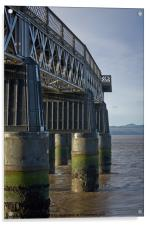 The Silvery Tay (in colour), Acrylic Print