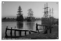 Pirates in port (2), Acrylic Print