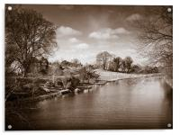 Kennet and Avon Canal, Acrylic Print