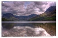 Buttermere looking towards Fleetwith Pike, Acrylic Print