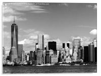 Freedom Tower New York, Acrylic Print