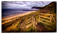 Gateway to Cattersty Sands, Acrylic Print
