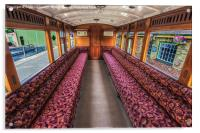 2nd Class Carriage, Acrylic Print