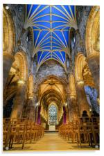 St Giles cathedral, Acrylic Print