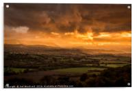 The Wye Valley, Acrylic Print