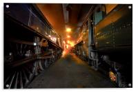 Steam Shed, Acrylic Print