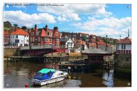 Open For Business At Whitby, Acrylic Print