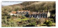 Cottages At Sandsend North Yorkshire, Acrylic Print