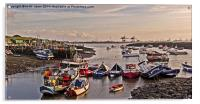 Moored For The Day, Acrylic Print