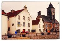 Culross Sketches 3. Scotland, Acrylic Print