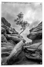 Rock and a Hard Place, Acrylic Print