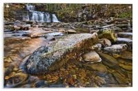 Cotter Force Waterfall , Acrylic Print