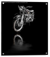 Matchless AJS Motorcycle, Acrylic Print