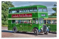 Bristol Tramways and Carriage Company, Acrylic Print