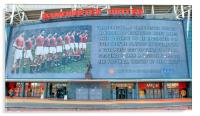 Manchester United Busby Babes, Acrylic Print